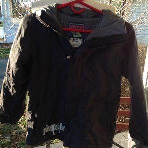 Boys. Burton coat,